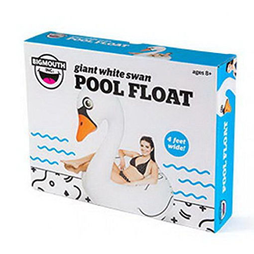 Picture of Big Mouth - Giant White Swan Pool Float