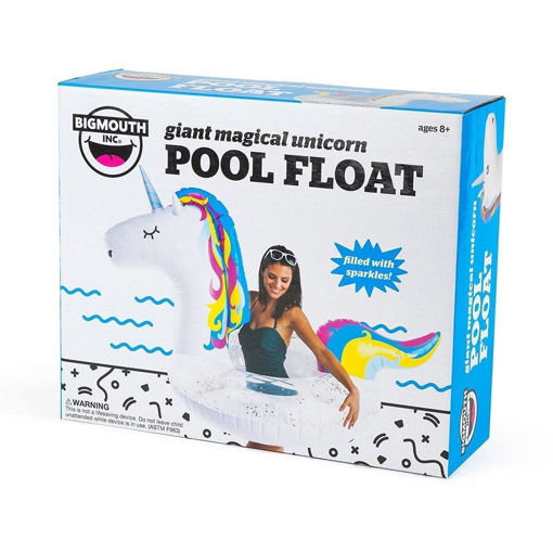 Picture of Big Mouth - Pool Float   Glitter Unicorn