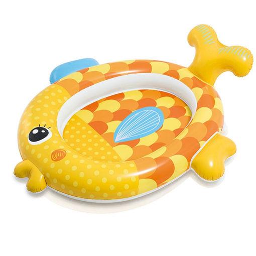 Picture of Intex - Friendly Goldfish Baby Pool 1.4Mx1.24Mx34Cm