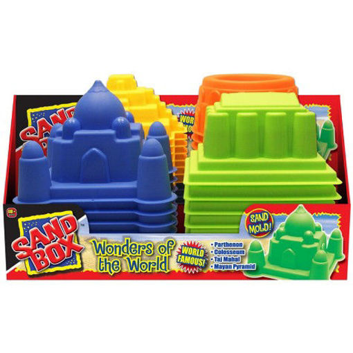 Picture of Sand Molds Wonders Of The World, assorted