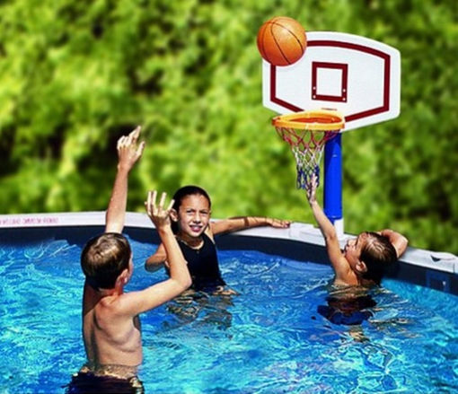 Picture of Jammin Basketball For Above Ground Pools
