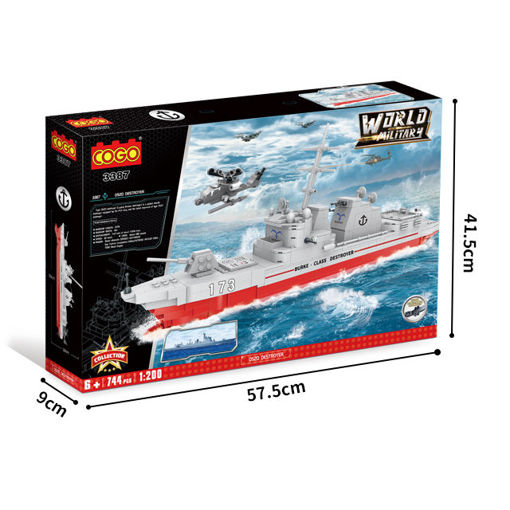 Picture of Cogo - World Military 052D Destroyer  744Pcs