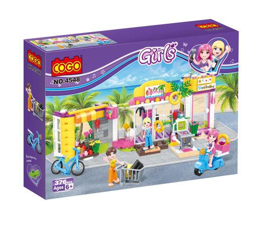 Picture of Cogo - Shop Building Blocks 376Pcs