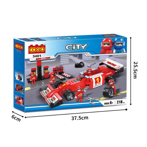 Picture of Cogo - Creative Builder -Racers Series 218Pcs