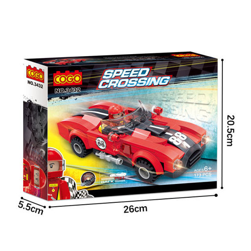 Picture of Cogo - Speed Crossing 173Pcs