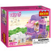 Picture of Cogo - Girls Series Carriage 3270 Building Block Sets For Gi