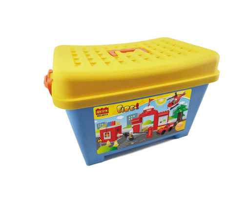 Picture of Cogo - Fire Block Box 76Pcs