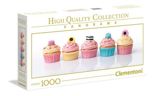 Picture of Clementoni - Hqc 1000Pcs Panorama Licorice Cupcakes