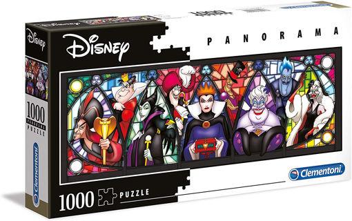 Picture of Clementoni -  Pzl 1000 Panorama Disney Multiprop Vil