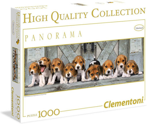Picture of Clementoni -  Pzl 1000 Panorama Beagles