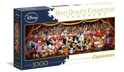 Picture of Clementoni -  Pzl 1000 Panorama Disney Orchestra New F