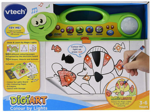 Picture of Vtech- Digiart Colour By Lights