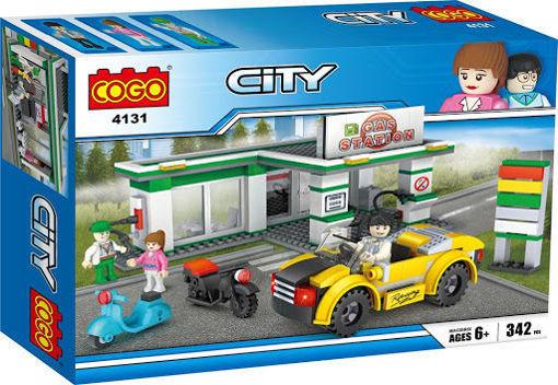 Picture of Cogo - City Gas Station 342Pcs