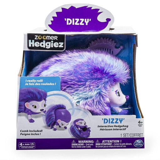 Picture of Dog Zoomer Hedgiez Ast