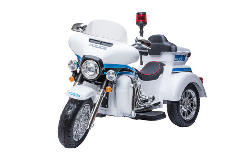 Picture of Rechargeable Motorcycle White