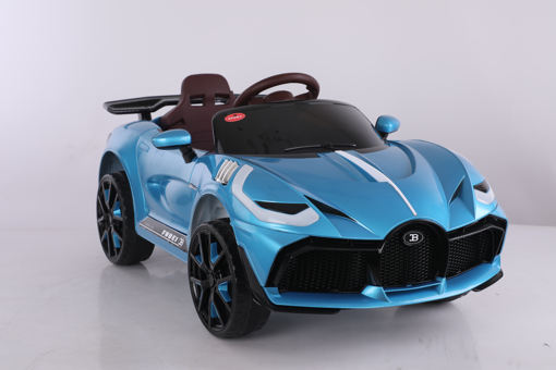 Picture of Rechargeable Car W/Rc Blue/White