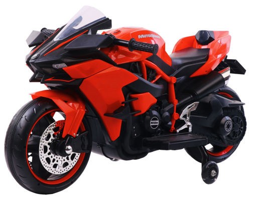 Picture of Rechargeable Motorcycle Red/Blue