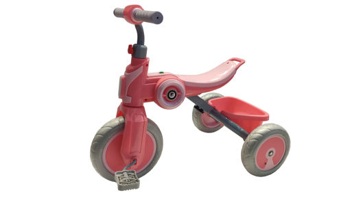 Picture of Tricycle Blue/Pink/Red