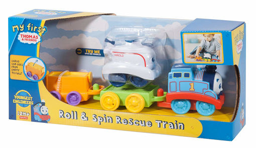 Picture of My 1St Tf Roll&Spin Resc Train