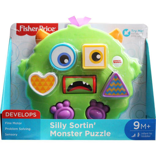 Picture of Silly Sortin Monster Puzzle