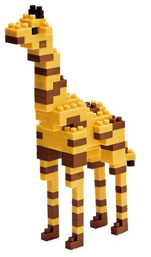 Picture of Giraffe Construction Blocks 130Pcs