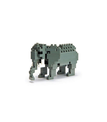Picture of African Elephant Construction Blocks 130Pcs