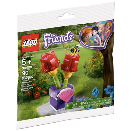 Picture of Brick Based Lego Friends-Tulips