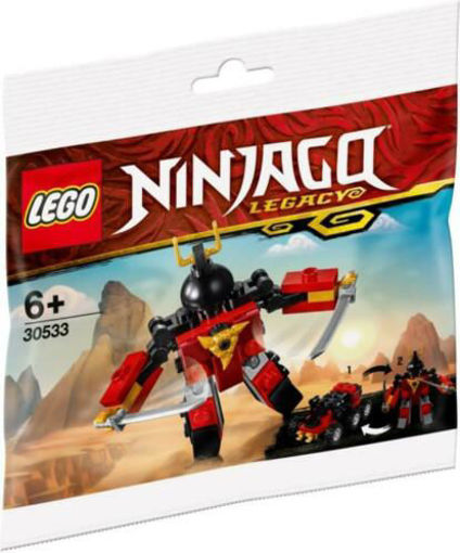 Picture of Brick Based Ninjago-Sam-X