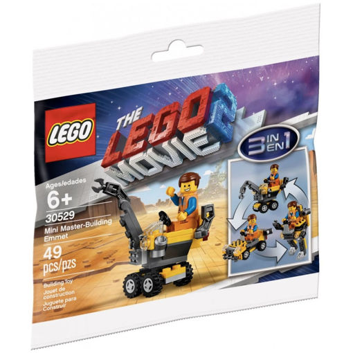 Picture of Brick Based Lego Movie-Mini Master-Building Emmet