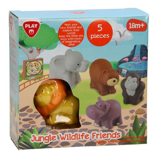 Picture of Jungle Wildlife Friends - 5 Pcs
