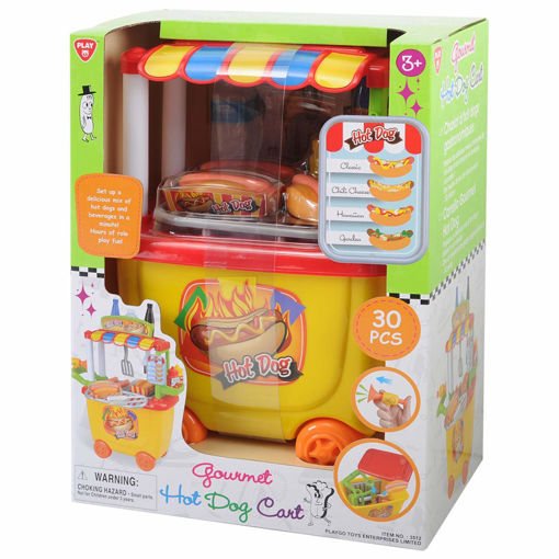 Picture of Gourmet Hot Dog Cart 30Pcs