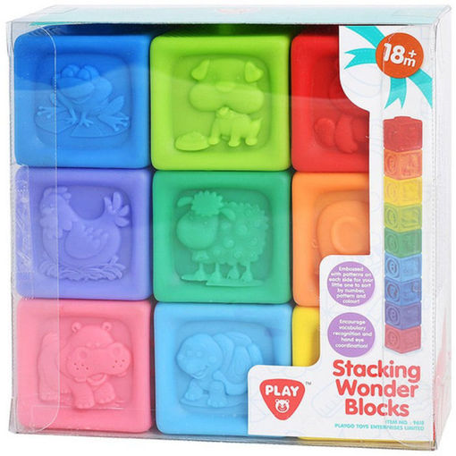 Picture of Stacking Wonder Blocks - 9 Pcs