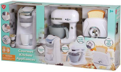 Picture of  Classic Kitchen Appliance Trio  9Pcs Blue