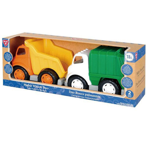 Picture of Mighty Wheels Duo-Dump Truck City Bin Truck
