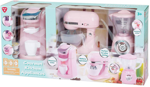 Picture of  Classy Kitchen Appliance Trio B/O - Pink