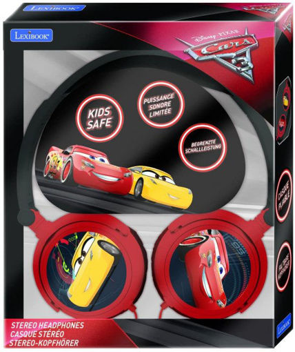 Picture of Disney Cars Stereo Headphones