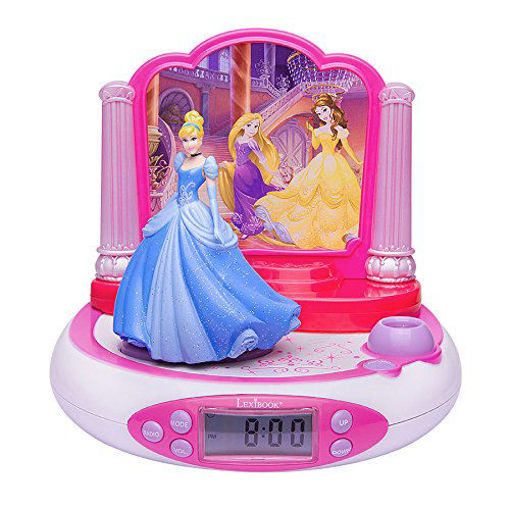 Picture of Disney Princess Projector Clock With Sounds