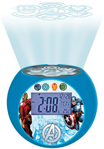 Picture of Avengers Projector Alarm Clock