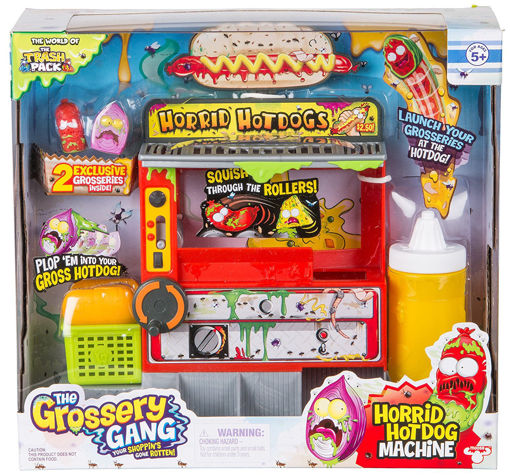 Picture of The Grossery Gang Horrid Hot Dog Playset 4Pcs