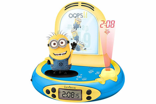 Picture of Despicable Me Projector Alarm Clock