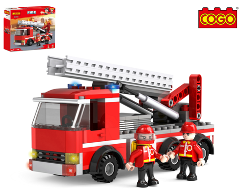 Picture of City Fire Fighting Series Fire Trunk Building Brick