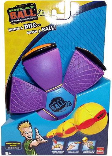 Picture of Phlat Ball Jr. Glow In The Dark - Purple/Magenta
