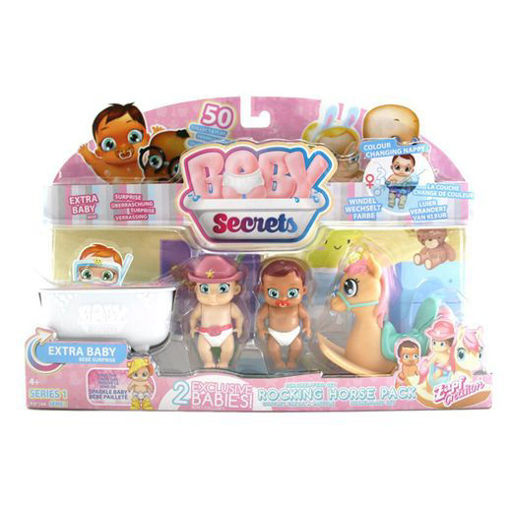 Picture of Baby Secrets Rocking Horse Pack 8 Pcs
