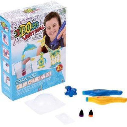 Picture of I Do 3D Vertical 2 Pen Changing Color