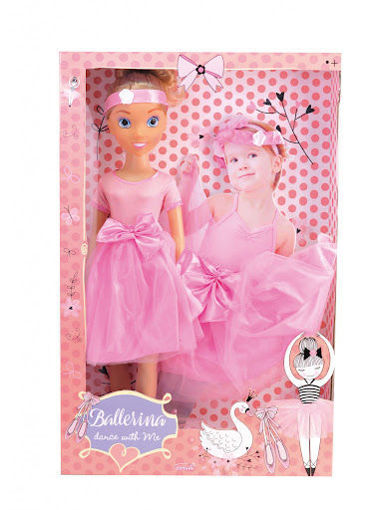 Picture of 80Cm Ballerina Fashion Doll Set With Acc