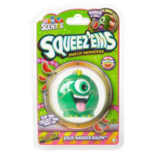 Picture of Scentos Squeez Ems Smelly Monsters Jolly Ranger Ralph