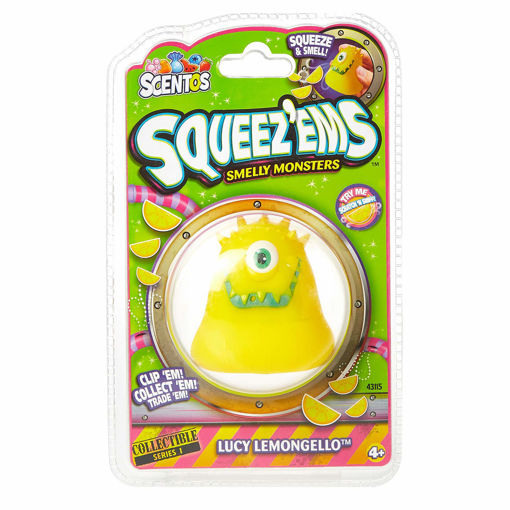Picture of Scentos Squeez Ems Smelly Monsters Lucy Lemongello