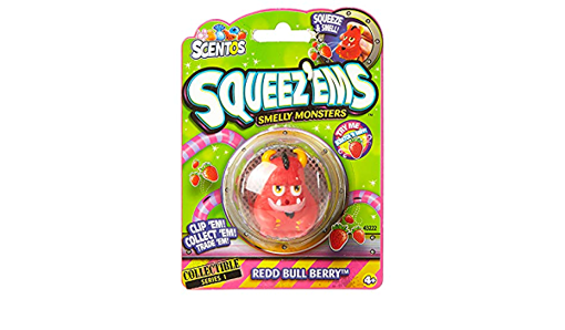 Picture of Scentos Squeez Ems Smelly Monsters Redd Bull Berry