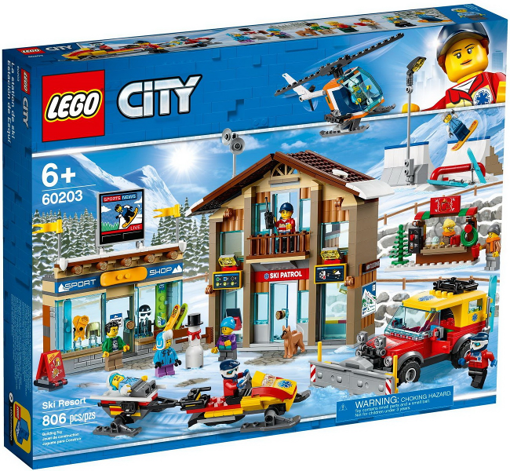 Picture of Lego City Town Ski Resort