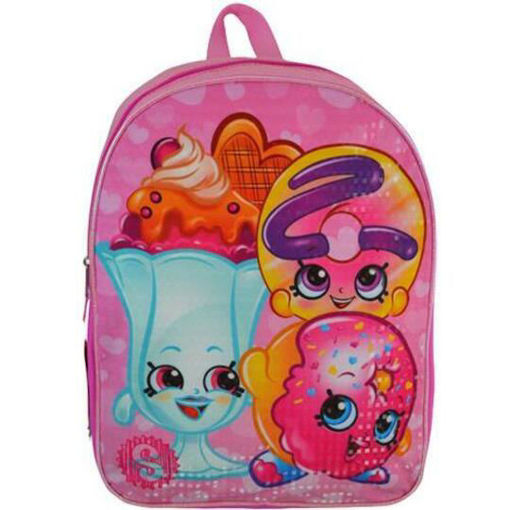 Picture of Shopkins 15'  Plain Front Backpack